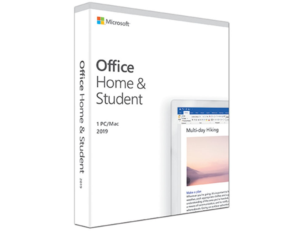 Microsoft Office Home & Student 2019 PC/MAC